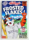 Colorado Rockies Cereal FRIDGE MAGNET frosted flakes box on Ebay
