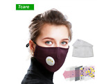 Kyпить New Washable Reusable N95 Anti Air Pollution Face Mask With Respirator+2 Filters на еВаy.соm