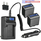Kastar Battery LCD AC Charger for Sony NP-QM91D & Sony CCD-TRV218 CCD-TRV228