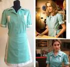 Twin Peaks cosplay costume Adult Maid dress custom made Waitress Cosplay dress!z