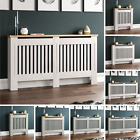 Arlington Radiator Cover White Grey Modern Traditional Cabinet Wood Furniture