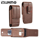 Vertical Phone Holster Pouch Belt Clip Case with Card Slot for Samsung Galaxy