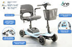 One Rehab Liberty Mobility Scooter 4mph Portable Boot New Batteries Charger