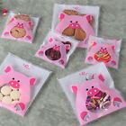 Baoblaze Cute Pig Sweet Cello Cellophane Cookie Candy Sweets Biscuit Bag FS