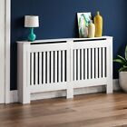 Radiator Cover White Unfinished Grey Modern Traditional Wood Grill Cabinet Shelf <br/> SALE - CHEAPEST ON EBAY - PRICES REDUCED UNTIL 26TH APR