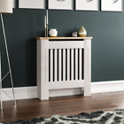 Radiator Cover White Unfinished Grey Modern Traditional Wood Grill Cabinet Shelf