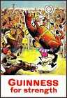 It's A Horse Race Guinness For Strength Vintage Poster Print Art Beer Advert