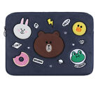 "Line Friends Soft Sleeve Pouch Bag Case For Tablet Laptop PC Notebook 13"" Inch"