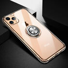 For OPPO R17 Reno F11pro Transparent Drop Protective Ring Holder Slim Case