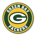 Green Bay Packers Round Decal / Sticker Die cut Logo Vinyl Football $17.95 USD on eBay