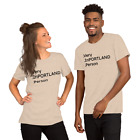 Very InPORTLAND Person - Men's 100% cotton short sleeve t-shirt. Quality! image