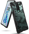 For OnePlus 8 Case | Ringke [FUSION-X] Clear PC Back Shockproof Bumper Cover