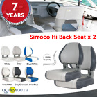 Oceansouth USA Deluxe Hi Back Boat Seats Folding x 2 image
