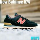NEW BALANCE ML574OTD BLACK EARTH RED MEN'S LIFE STYLE SHOES 100% AUTHENTIC