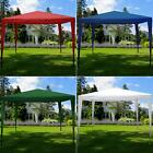 3x3m Pop Up Gazebo Marquee Tent Garden Party Carry Bag Waterproof Shelter Canopy