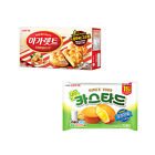 [Lotte] Box Snack (Magaret / Lotte Custard) / Korea Snack / 마가렛트 / 카스타드