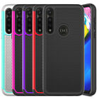 For Motorola Moto G Power 2020 Case Hybird Rugged Cover / Glass Screen Protector