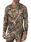 "Thermal Top Men's Fleece Heavyweight Camo Realtree ""EDGE"" Various Size New Base Layers - 177867"