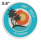 """Key West Florida 3.5"""" Embroidered Patch Hook and Loop Decorative Gear Applique"""