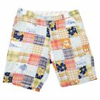 Loudmouth Mens Stretch Golf Shorts Multicolor Groovy Retro Patterns Size 34-36