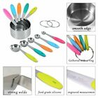 10X Measuring Spoons Cup Kitchen Tool Baking Teaspoon Scale Measure Colourworks