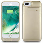 Luxury For iPhone XS 8 7 SE 2020 Battery Case External Power Bank Charger Cover