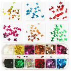 Fashion 3D Laser Butterfly Sequins Nail Art Flakes Glitter Foil Decoration New
