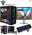 Fast Intel Core I5 Gaming Pc Set Computer 8gb Ram 1tb Hdd Windows 10 Gt710 2gb