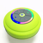Waterproof LED Bluetooth Wireless mini Speaker Shower Portable USB/TF/FM Radio