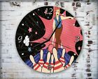 Vector Art Bowling Wall Clock Home Office Bedroom Living Room Kitchen Decor