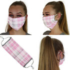 Cotton Face Mask Adjustable Mask Double Layered Washable Reusable Adult Kids UK <br/> ⭐VERY HIGH QUALITY⭐DOUBLE LAYERED⭐COTTON⭐FAST DELIVERY⭐