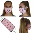 Cotton Face Mask Adjustable Mouth Mask Double Layered Washable Reusable Adult UK <br/> ⭐VERY HIGH QUALITY⭐DOUBLE LAYERED⭐COTTON⭐FAST DELIVERY⭐