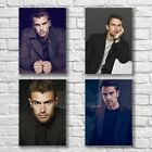 Theo James Poster A4 HQ Set Print Sexy Hot Pretty Man Home Wall Decor