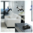 Rocket RC Flip Micro Quadcopter Drone w/LED Lights Indoor/Outdoor Blue or Silver