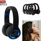 Kyпить TWS True Wireless Headphones Foldable Bass Stereo Earphones Headset TF Card New  на еВаy.соm