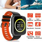 Waterproof Sport Smart Watch Pedometer Heart Rate Sleep Monitor for iOS Android Featured for heart monitor pedometer rate sleep smart sport watch waterproof