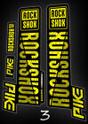 Rock Shox pike custom style fork decals