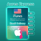 Apple iTunes Gift Card USA United States Canada $5 $10 $15 $25 $50 $100 ✅ Fast ✅