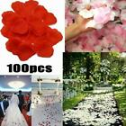 100pcs/lot Artificial Fake Flower Rose Petal Wedding Decor Party M0l6