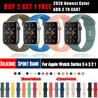 2020 NEW Color Silicone Sports Band iWatch Strap For Apple Watch Series 5 4 3 2 image