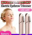 Kyпить Electric Brows Remover Razor Face Eyebrow Trimmer Facial Hair Removal LED Light на еВаy.соm