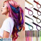Lots Multi-Colors Party Highlights Colorful Synthetic Clip In Hair Extensions US