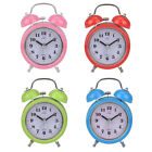 Table Silent Retro Wake Up Noctilucence Alarm Clock Bedroom  Bell Classic