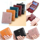 Women Wallet Leather Small Mini Purse ID Credit Card Holder Pocket Mini Wallet