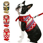 Adjustable Pet Dog Harness and Leash Set Puppy Walking Vest for Chihuahua Poodle