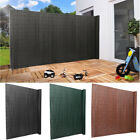 Quality PVC Privacy Fence UV Resistant Double Side Garden Screen Fence Panel Mat