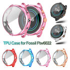 TPU Watch Case Full Cover Screen Protector for Fossil FW 6022 Sport Smart Watch