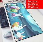Anime Cute Rabbit Ear Animal Desk Playing Gaming Table Mat Mouse Pad Laoptop