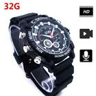 8G/16G/32G Memory 1080P Camera Watch Video Recorder IR Night Vision Hidden Cam