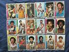 1976-77 Topps Basketball Cards Pick Cards You Want Nm-mint